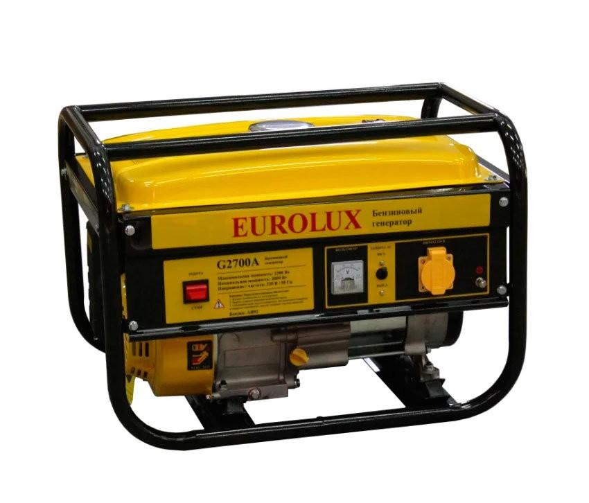 Электрогенератор EUROLUX G2700A - фото товара