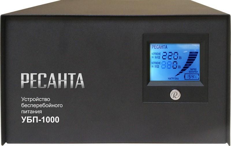 Источник бесперебойного питания РЕСАНТА УБП-1000 - фото товара