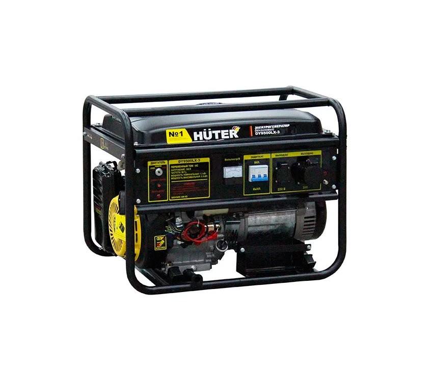Электрогенератор HUTER DY9500LX-3 - фото товара